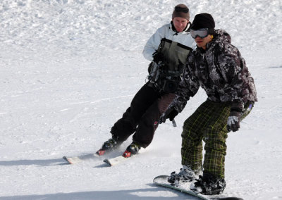 Skiing Cameraman